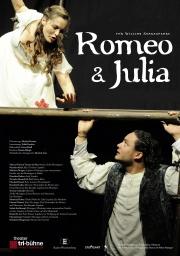 Plakat zu 'Romeo und Julia'