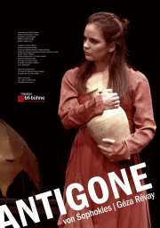 Plakat zu 'Antigone'