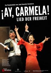 Plakat zu 'Ay, Carmela! – Lied der Freiheit'