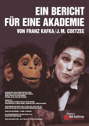 Plakat zu 'Ein Bericht für eine Akademie'