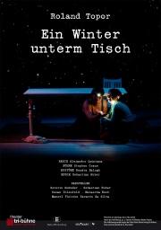 Plakat zu 'Ein Winter unterm Tisch'