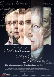 Plakat zu 'Hölderlin Hegel Schelling'