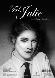 Plakat zu 'Fräulein Julie'