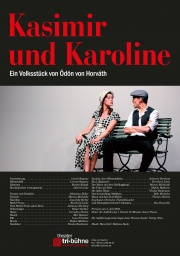 Plakat zu 'Kasimir und Karoline'