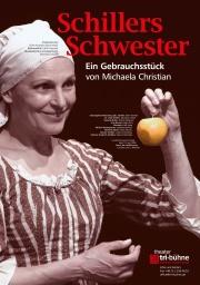 Plakat zu 'Schillers Schwester'