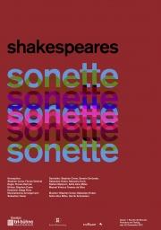 Plakat zu 'Shakespeares Sonette'