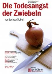 Plakat zu 'Die Todesangst der Zwiebeln'