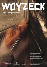 Plakat zu 'Woyzeck'