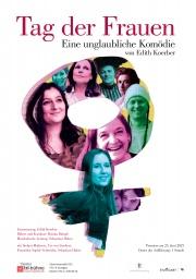 Plakat zu 'Tag der Frauen'
